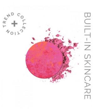 Компактные тени-румяна c 2D эффектом LOOkX eyeshadow Hot pink 04 (сменный блок)