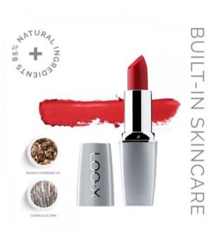 Помада-уход Woman In Red LOOkX Lipstick 87 (холодный подтон)