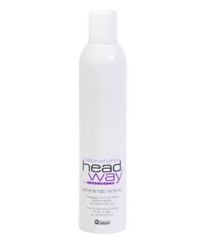Лак Экстрим Техноформ матовый сильной фиксации для укладки с UV-защитой (без склеивания!) / Extreme Hold Hair Spray Technoform Head Way