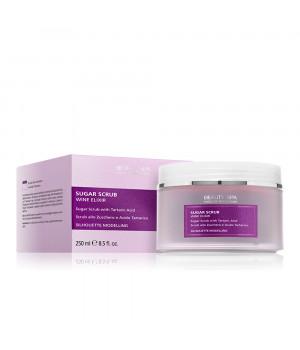 Кислотный скраб Винный пилинг рH 3,5 для лица и тела / Sugar scrub