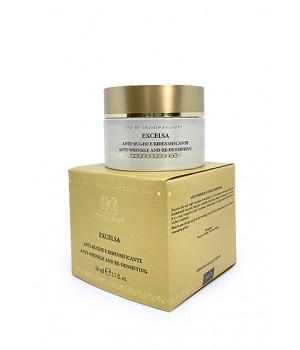 Пептидный термальный anti-age крем Эксельса с шимер-эффектом для зрелой кожи (день + ночь) / Excelsa