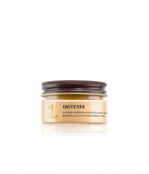 Термальная лифтинг-маска Дистенди с золотым шиммером для атоничной кожи / Distendi