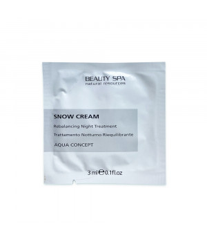 Восстанавливающий крем для лица для кожи с постакне и себореей Beauty Spa Snow Cream пробник