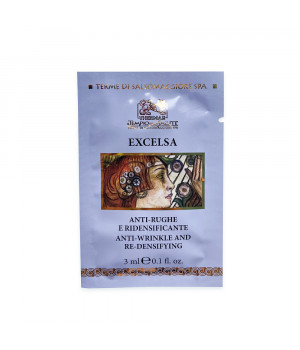Пептидный термальный anti-age крем Эксельса с шимер-эффектом для зрелой кожи (день + ночь) / Excelsa пробник