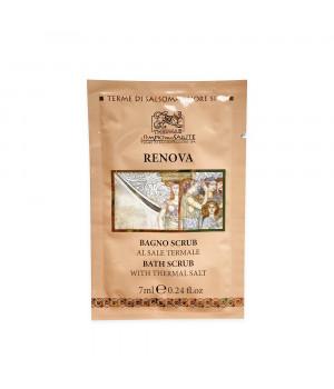 Солевой арома-скраб Ренова для лица и тела / Renova bath scrub пробник