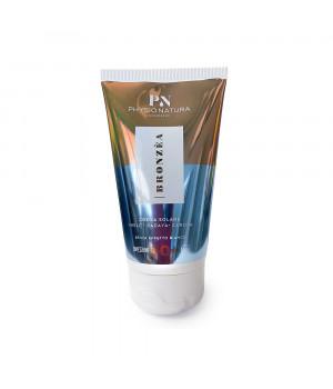 Солнцезащитный крем Бронзеа SPF 50 для всех типов кожи (лицо+ тело, без белого налета, гипоаллергенный) / Bronzea sun cream 50+